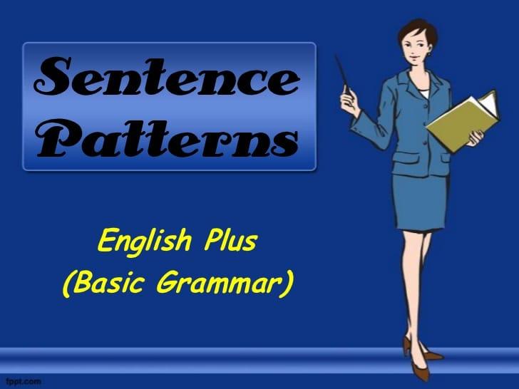 sentence-patterns