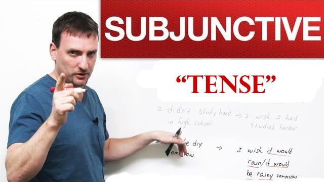 subjunctive tense