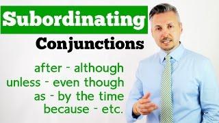 subordinating conjuction