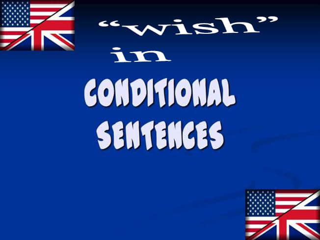wish conditional sentences