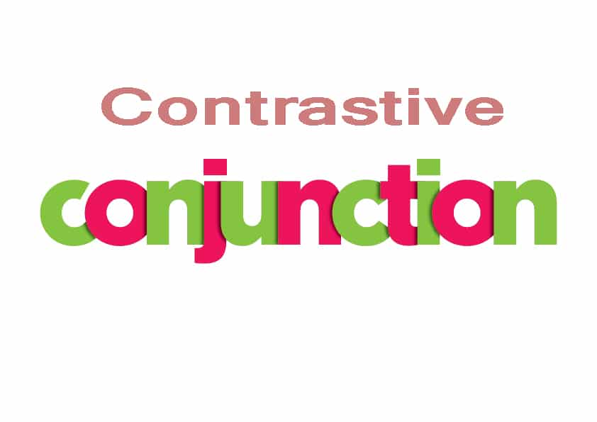 contrastive conjuction