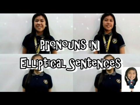 elliptical sentences