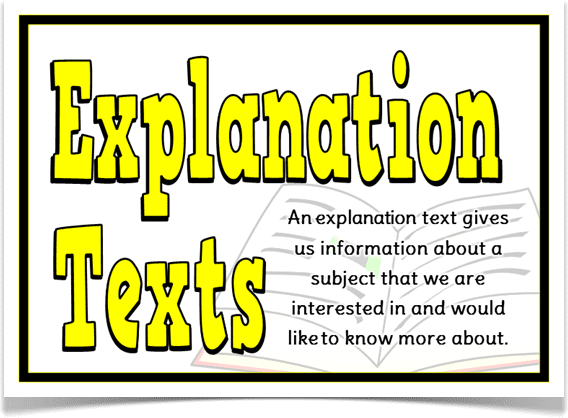 explanations text