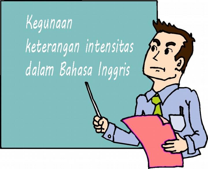 kegunaan intensitas