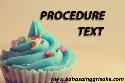 procedure teks