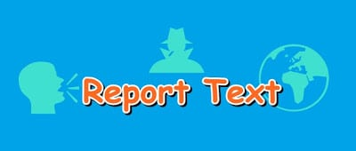 Contoh Report Text
