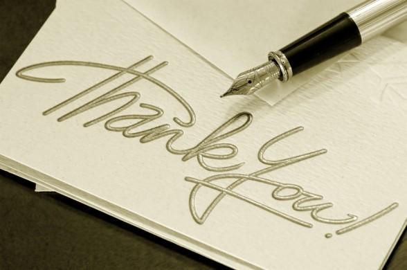 expressi gratitude