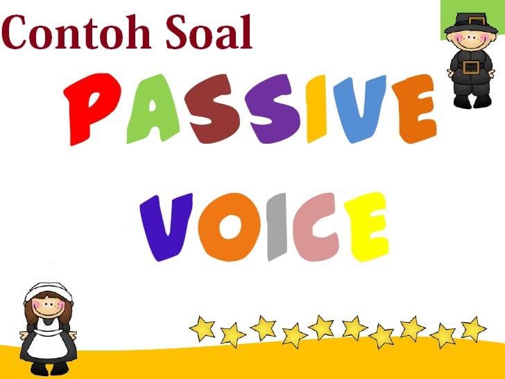 soal passive voice