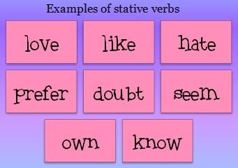 stative verb